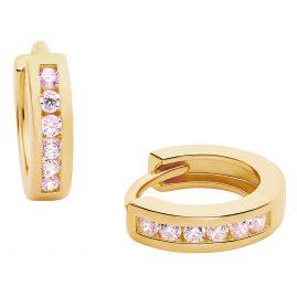 Prinzessin Lillifee 2029723 Mädchen-Ohrringe Creolen Silber vergoldet