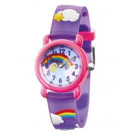 Herzengel HEWA-RAINBOW Children's Watch Rainbow Multicolor