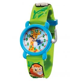 Herzengel HEWA-ZOO Children's Watch Zoo Multicolor