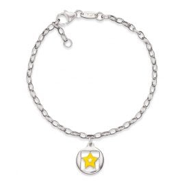 Herzengel HEB-03SHINE Childrens Bracelet Star