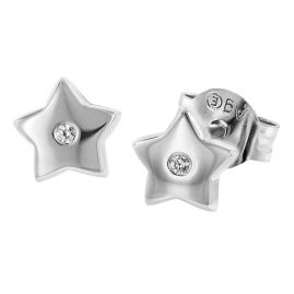 Herzengel HEE-STAR-ZI-ST Silber Kinderohrstecker Stern