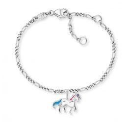 Herzengel HEB-HORSE Kinder-Armband Pferd Silber