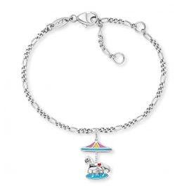 Herzengel HEB-CAROUSEL Silber-Armband für Kinder Karussell