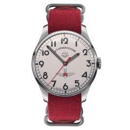 Sturmanskie 2609-3745200 Rot Herren-Armbanduhr Gagarin Vintage Retro
