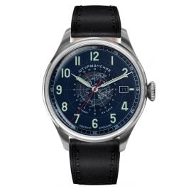 Sturmanskie 2432-6821352 Men's Wristwatch Heritage Arctic Automatic 24h Blue