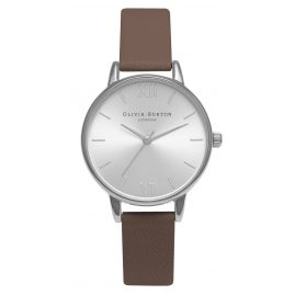 Olivia Burton OB15MD38 Midi Dial Taupe Silver Ladies Watch