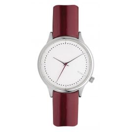 Komono KOMW2858 Ladies Watch Estelle Patent Burgundy