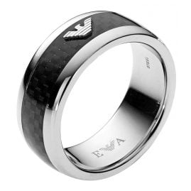 Emporio Armani EGS1602040 Signature Mens Ring