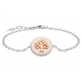 Julie Julsen JJBR0620.8 Damen-Armband Lebensbaum Silber
