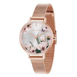 Julie Julsen JJW30RGME Ladies' Watch Romance Rosé Mesh