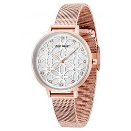 Julie Julsen JJW100RGME Ladies' Watch Flower of Life Rose-Tone
