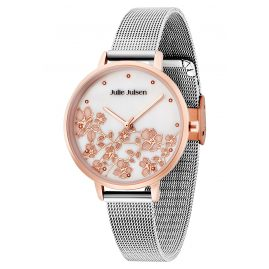 Julie Julsen JJW80RGSME Ladies' Wristwatch Blossom Rose-Tone