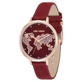 Julie Julsen JJW1202RGL-17 Damen-Armbanduhr World Ø 38 mm