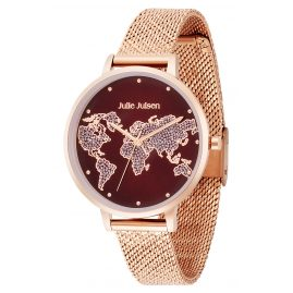 Julie Julsen JJW1202RGME-R Damen-Armbanduhr World Ø 38 mm