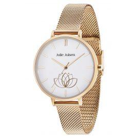 Julie Julsen JJW1100GME Damen-Armbanduhr Lotusblüte Ø 38 mm