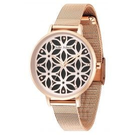 Julie Julsen JJW1235RGME Damen-Armbanduhr Flower Of Life Ø 38 mm