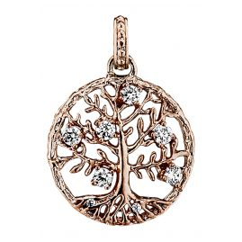 Julie Julsen JJ7960.8 Pendant Crystal Tree Two-Colour