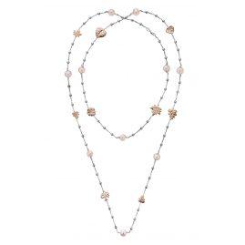 Julie Julsen JJNE9850.4 Damen-Halskette Petite Rosé