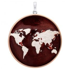 Julie Julsen JJPE0606.2RE Pendant World Silver 925