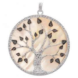 Julie Julsen JJPE0563.6 Pendant Tree of Life Silver