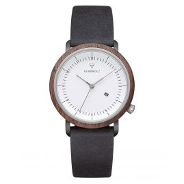 Kerbholz Women's Watch Carla Walnut/Black