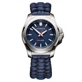 Victorinox 241770 I.N.O.X. V Ladies Watch Blue with Paracord Strap