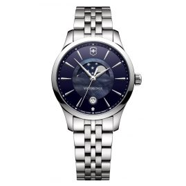 Victorinox 241752 Alliance Small Ladies Watch with Moon Phase