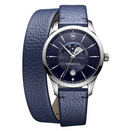 Victorinox 241755 Alliance Small Ladies Watch with Moon Phase Blue