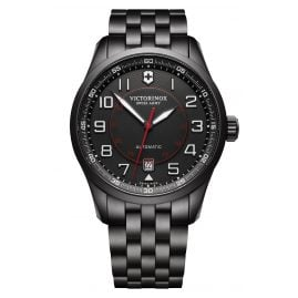 Victorinox 241740 Herren-Automatikuhr Airboss Mechanical Black Edition