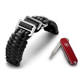 Victorinox 60022 I.N.O.X Paracord Bracelet Black