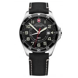 Victorinox 241895 Men's Wristwatch FieldForce GMT black