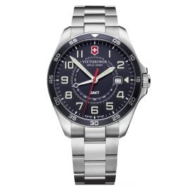 Victorinox 241896 Herrenuhr FieldForce GMT mit Stahlband