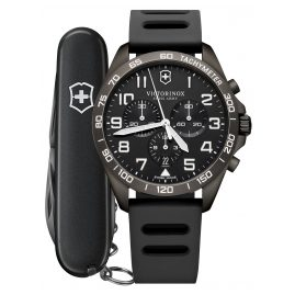 Victorinox 241926.1 Herrenuhr FieldForce Sport Chronograph Grau