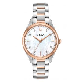 Bulova 98P183 Classic Women's Watch with Diamonds