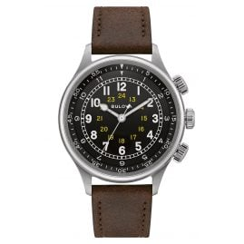 Bulova 96A245 Men's Pilot's Watch Automatic Classic
