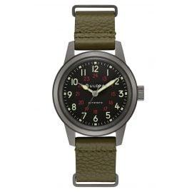 Bulova 98A255 Pilot's Watch Unisex Size Automatic Classic