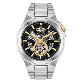 Bulova 98A224 Men's Skeleton Watch Automatic Maquina