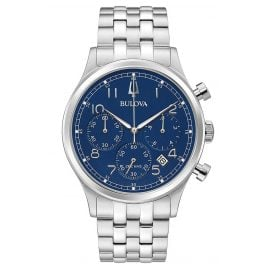 Bulova 96B358 Men's Watch Chronograph Classic Blue
