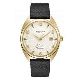 Bulova 97B196 Men's Watch Automatic Fly me to The Moon Black/Gold Tone