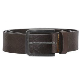 Boss 50332441-202 Mens Belt Jeremyo Dark Brown