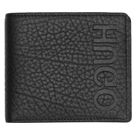 Hugo 50402991 Leather Wallet Victorian Black