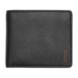 Hugo 50312008-002 Leder-Geldbeutel für Herren Subway Schwarz
