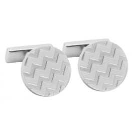 Hugo 50327095-040 E-Chevron Cufflinks
