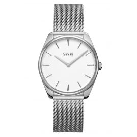 Cluse CW0101212001 Ladies' Wristwatch Féroce Steel/White