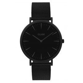 Cluse CW0101201005 Damen-Armbanduhr La Boheme Mesh-Armband Schwarz