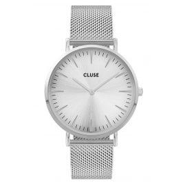 Cluse CW0101201013 Damenuhr La Boheme Mesh-Armband silber