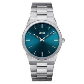Cluse CW0101503003 Herrenuhr Vigoureux Stahl/Petrol