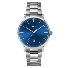 Cluse CW0101501011 Men's Watch Aravis Steel/Blue