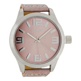 Oozoo C1008 XXL Watch Pink-Grey 51 mm
