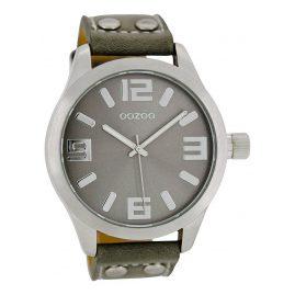 Oozoo C1057 Armbanduhr XL Grau 46 mm